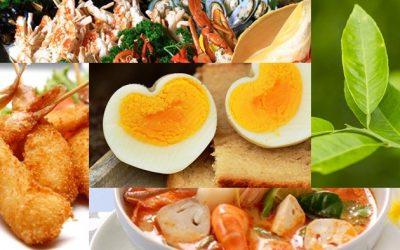 อาหารแสลง 10 อย่างที่ไม่ควรรับประทาน หากว่ากำลังป่วย